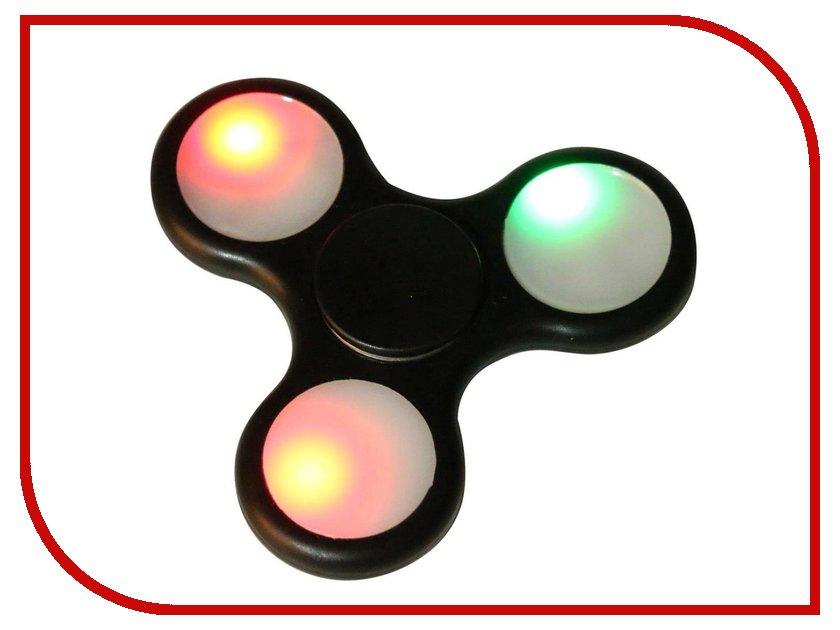 Спиннер Aojiate Toys Finger Spinner Light effects RV530 Black