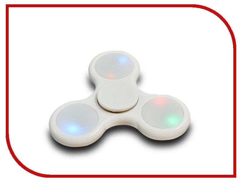 Спиннер Aojiate Toys Finger Spinner Light effects RV530 White