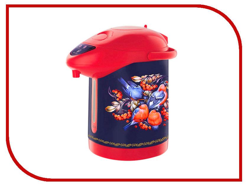 Термопот Василиса ВА-5006 Снегири в рябине Blue-Red 5s 160кг gold 5006