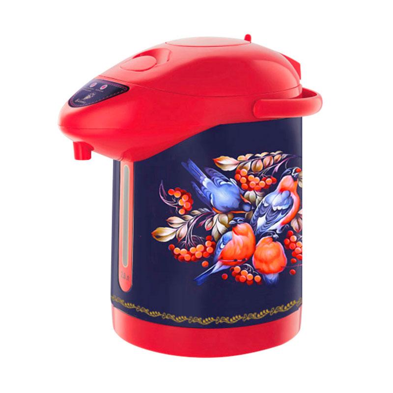 Термопот Василиса ВА-5006 Снегири в рябине Blue-Red
