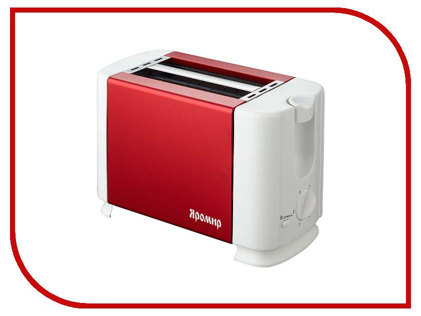 Тостер Яромир ЯР-602 Red White