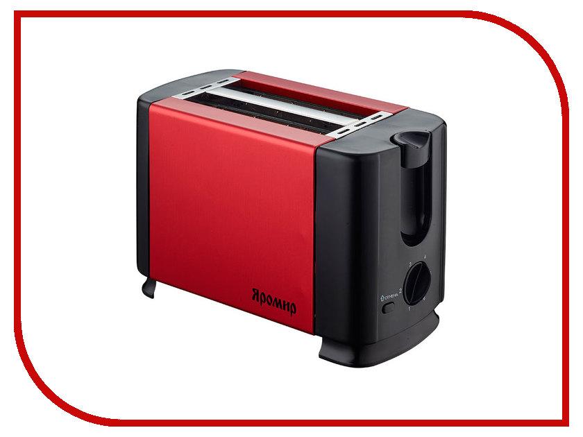 Тостер Яромир ЯР-602 Red Black цена