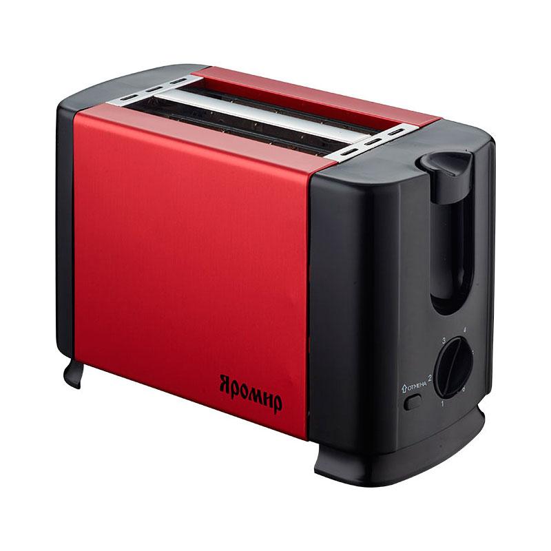 Тостер Яромир ЯР-602 Red Black