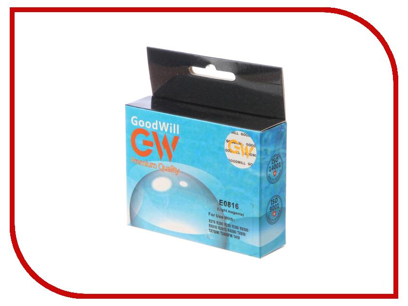 Картридж GoodWill Light Magenta для R270/R290/R295/R390/RX590/RX610 GW-T0816A