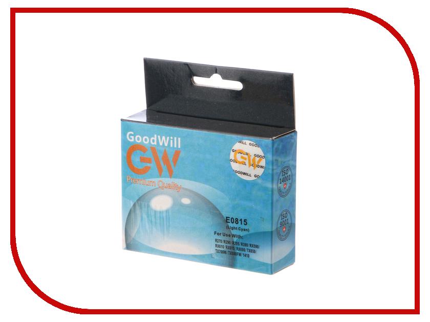 Картридж GoodWill Light Cyan для R270/R290/R295/R390/RX590/RX610/RX615 GW-T0815A