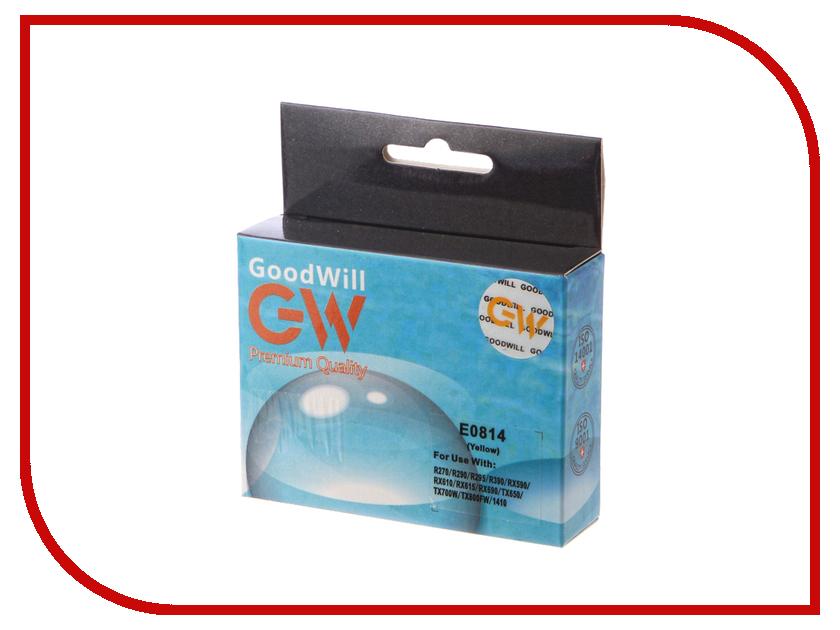 Картридж GoodWill Yellow для R270/R290/R295/R390/RX590/RX610/RX615/RX690 GW-T0814A