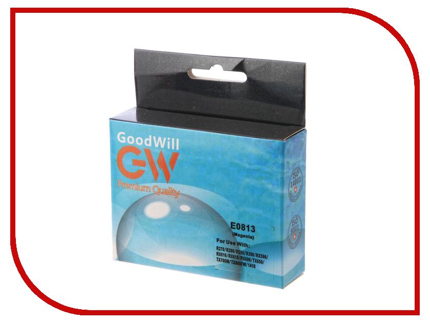 Картридж GoodWill Magenta для R270/R290/R295/R390/RX590/RX610/RX615 GW-T0813A