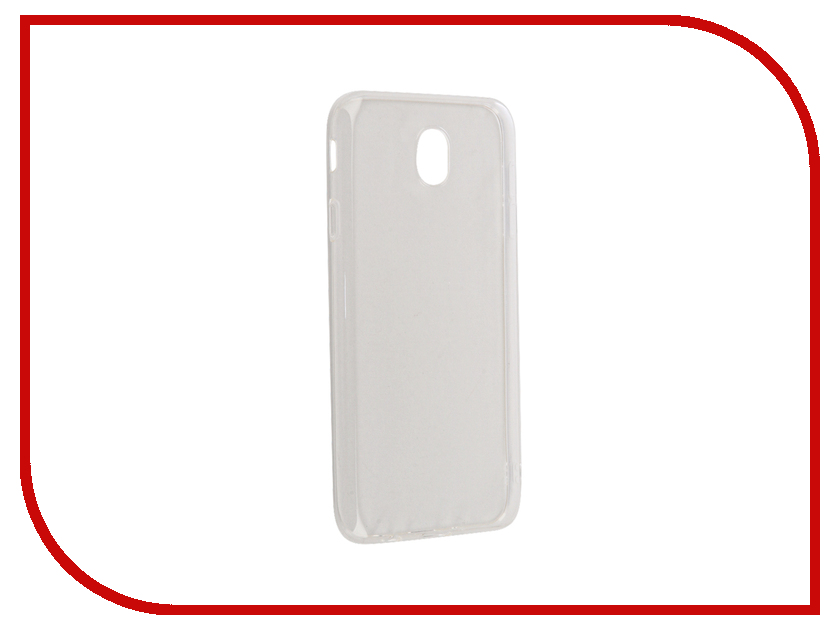 Аксессуар Чехол Samsung Galaxy J7 2017 BoraSCO Silicone 0.5mm Transparent borasco borasco artworks для apple iphone 7 gymo