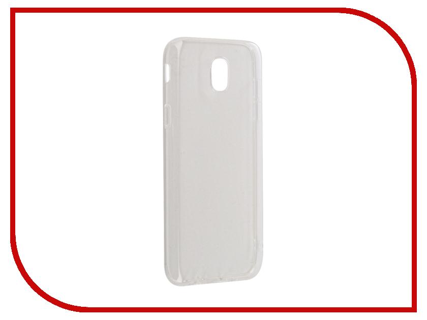 Аксессуар Чехол Samsung Galaxy J5 2017 BoraSCO Silicone 0.5mm Transparent