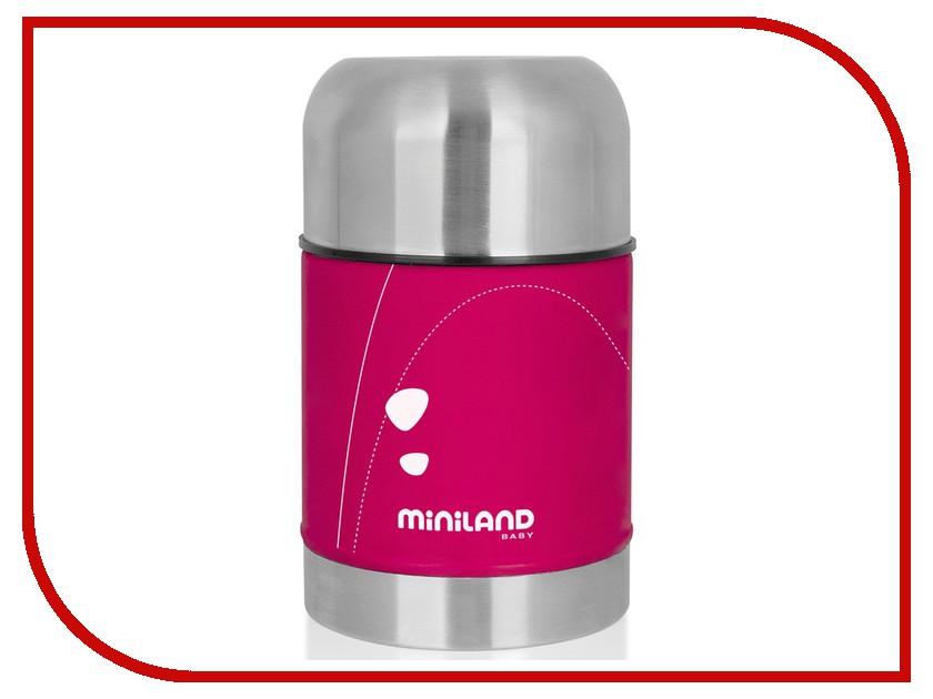 Термос Miniland Soft Thermo Food 600ml 89122 Pink игровой коврик дорожное движение miniland