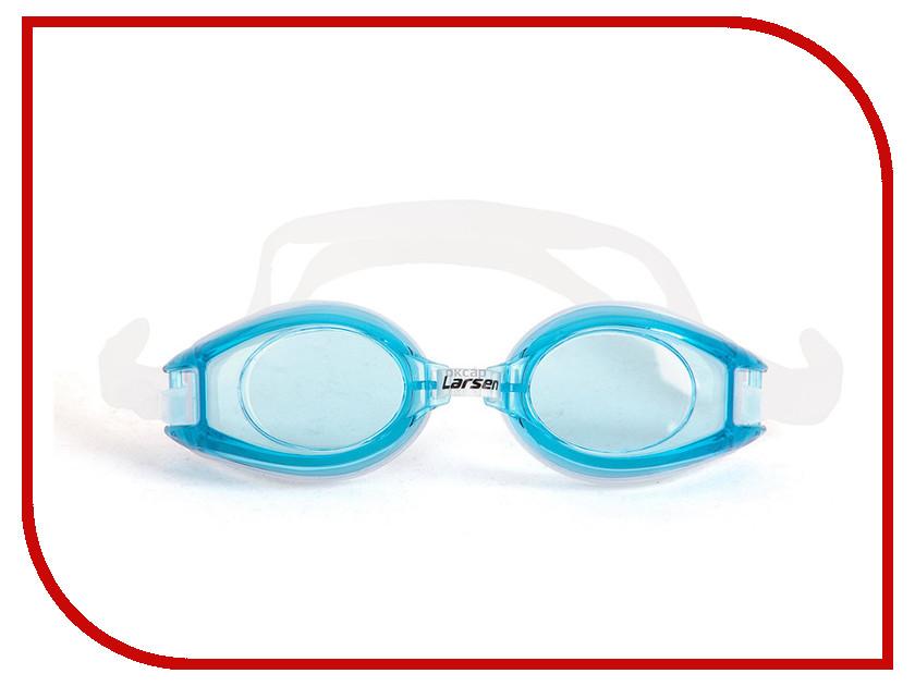 Очки Larsen R1281 Light Blue очки плавательные larsen s45p серебро тре