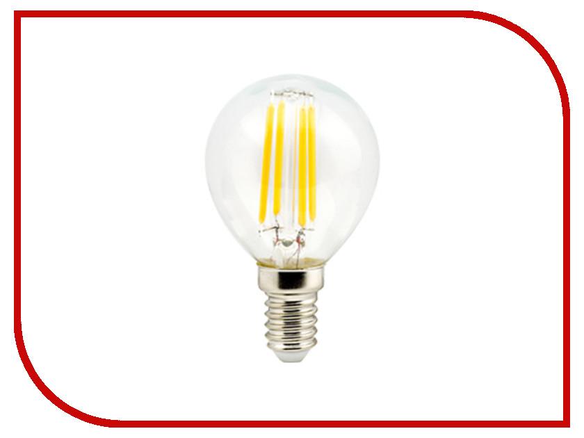 Лампочка Ecola Globe LED Premium E14 6W G45 220V 2700K N4PW60ELC лампочка ecola globe led e14 7w g45 220v 4000k k4lv70elc