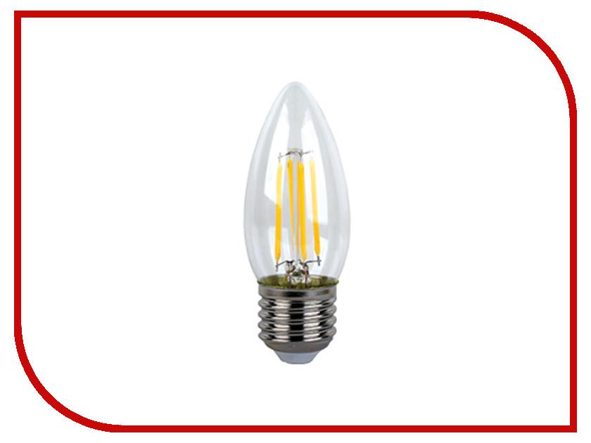 Лампочка Ecola Candle LED Premium E27 6W 220V 2700K N7QW60ELC лампочка ecola light classic led e27 11 5w a60 220v 2700k tk7w11elc