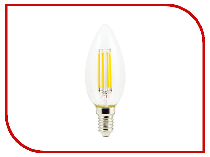 Лампочка Ecola Candle LED Premium E14 6W 220V 4000K N4QV60ELC лампочка ecola globe led e14 7w g45 220v 4000k k4lv70elc