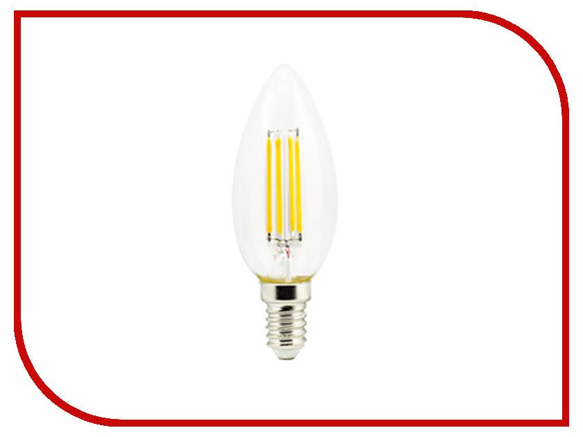 Лампочка Ecola Candle LED Premium E14 6W 220V 2700K N4QW60ELC лампочка ecola globe led e14 7w g45 220v 4000k k4lv70elc