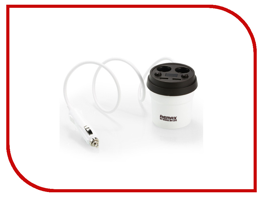 Зарядное устройство Remax CR-2XP Demitasse 2xUSB LCD 5V/3.1A White-Brown 71765 зарядное устройство remax fast 7 2xusb rcc204 blue