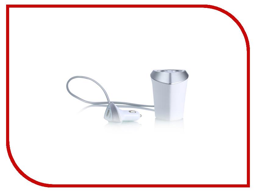 Зарядное устройство Remax CR-3XP Smart 3xUSB LCD 5V/3.4A White 71767 гаджет картридер photofast cr 8800w white