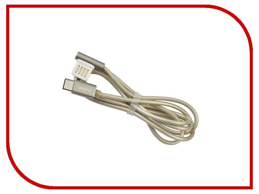 Аксессуар Remax Emperor RC-054a USB - Type-C 1m Gold