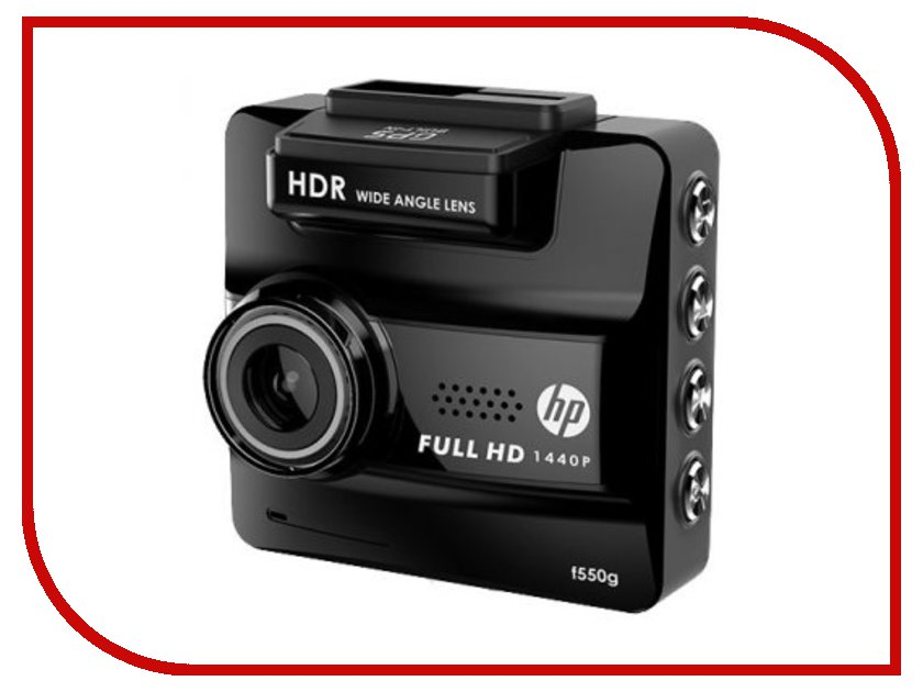 Видеорегистратор HP f550g hewlett packard hp лазерный мфу печать копирование сканирование