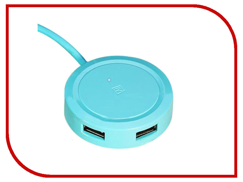 Хаб USB Remax Inspiron RU-U5 3xUSB 1.5m Blue