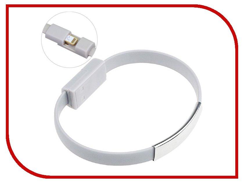 Аксессуар Activ USB / Lightning Cabelet Mono Mono White 46899