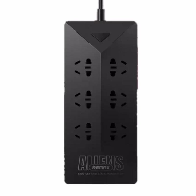 Сетевой фильтр Remax RU-S4 Aliens 5xUSB 5V/4.2A 1.8m Black 71948 зарядное устройство remax rcc304 aliens 3xusb 5v 4 2a black 71786