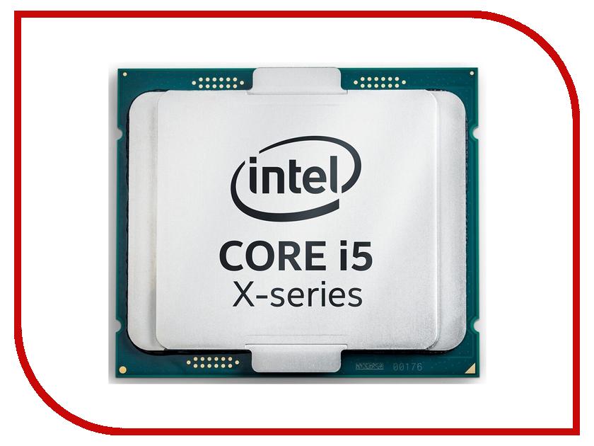 Процессор Intel Core i5-7640X Kaby Lake-X (4000Mhz/LGA2066/L3 6144Kb) процессор intel core i5 8600k coffee lake 3600mhz lga1151 l3 9216kb