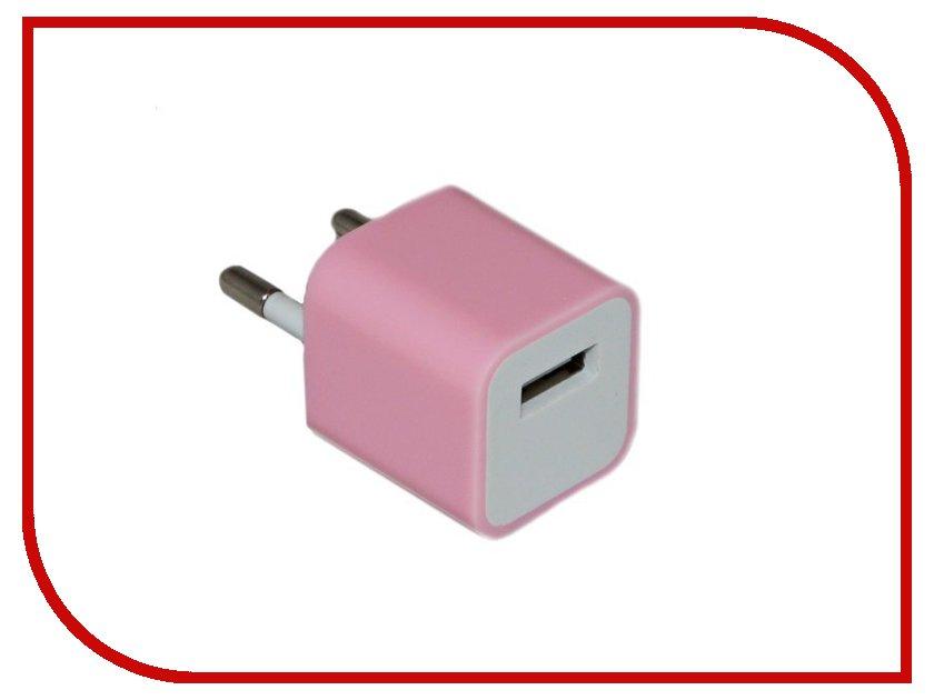 Зарядное устройство Activ USB Apple 1500 mA Pink 17090 зарядное устройство activ usb 1000 ma black 15682