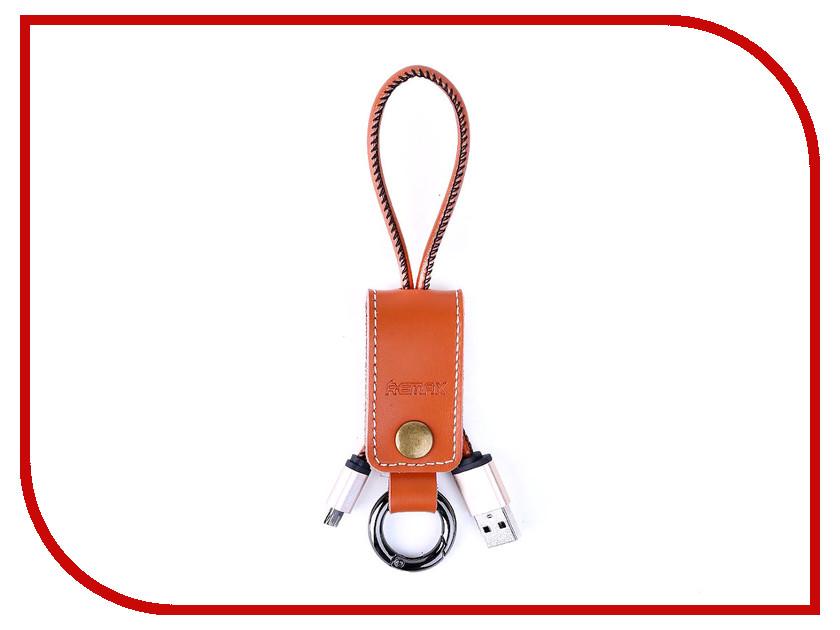 Аксессуар Remax USB - MicroUSB Western RC-034m Brown