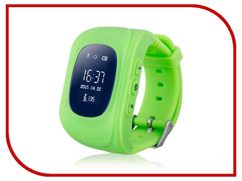 Умные часы Hello с GPS трекером Green 71548