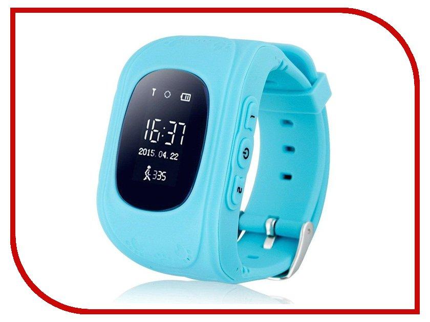 Умные часы Hello с GPS трекером Sky Blue 64167