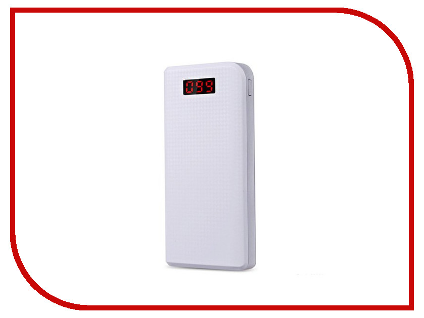 Аккумулятор Remax Power Bank Proda PPL-14 30000mAh Carbon White аккумулятор remax proda note book power bank 30000mah black