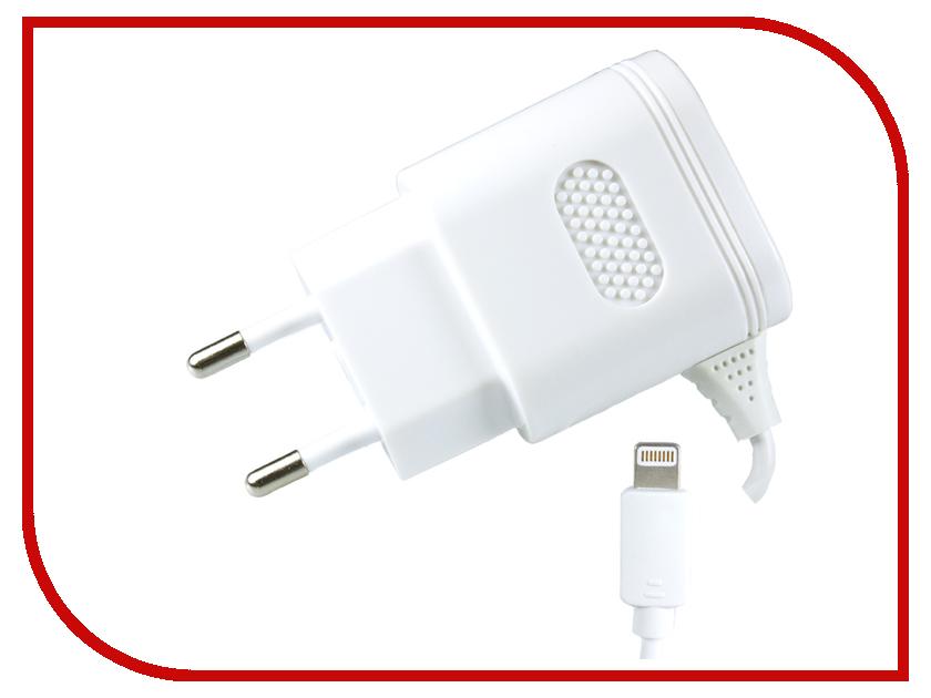 Зарядное устройство Partner 2.1А для Apple 8-pin ПР032993 зарядное устройство partner black пр031266