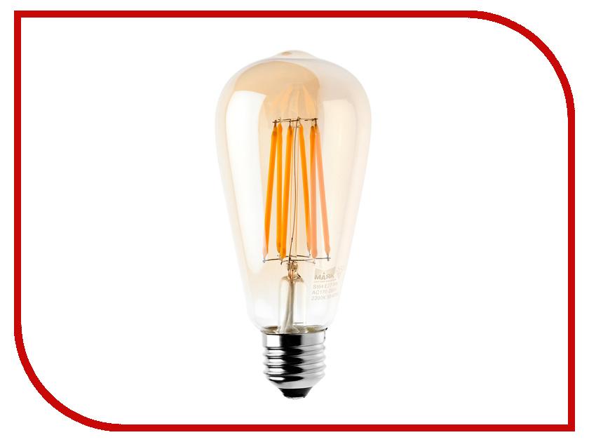 Лампочка Маяк LBF-ST64D-E27/8W/2200-001 дарсонваль d&d импульсный массажер дарсонваль марки d&d oj 001