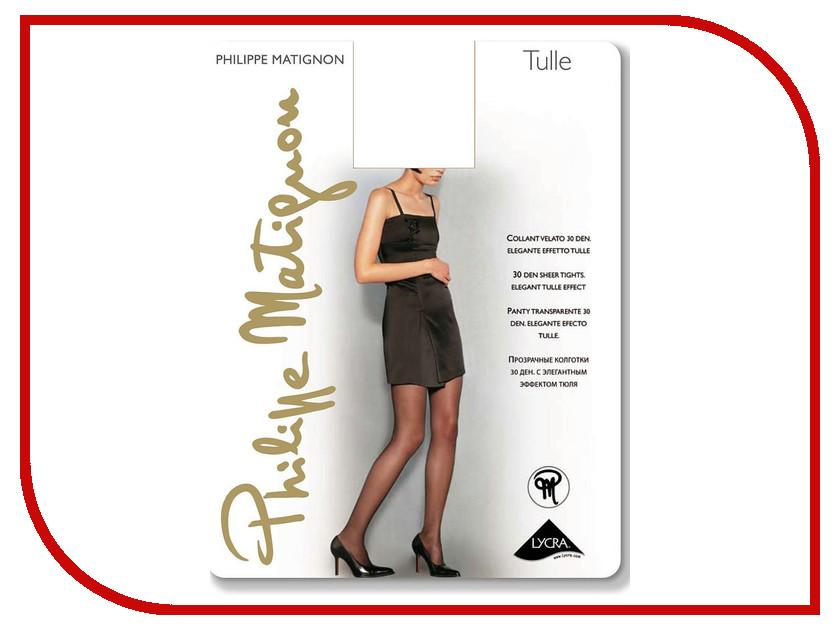Колготки Philippe Matignon Tulle размер 4 плотность 20 Den Nero