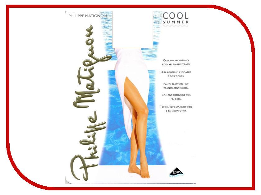 Колготки Philippe Matignon Summer размер 4 плотность 8 Den Playa-Nature