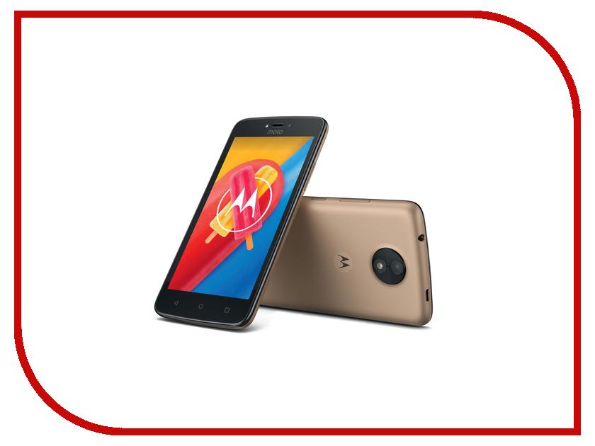 Сотовый телефон Motorola Moto C LTE 16Gb XT1754 Fine Gold смартфон motorola moto c 4g xt1754 metallic cherry