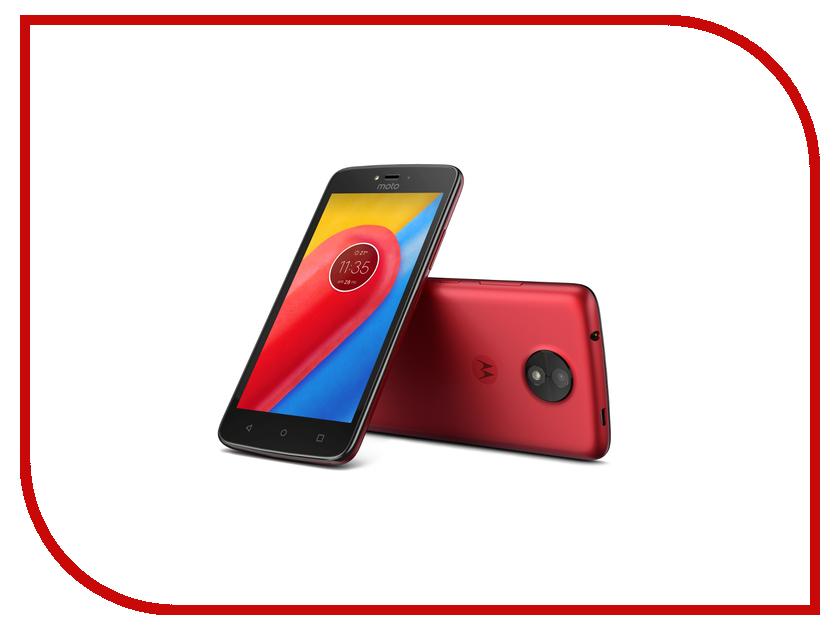 Сотовый телефон Motorola Moto C LTE 16Gb XT1754 Metallic Cherry сотовый телефон motorola moto c lte 16gb xt1754 starry black