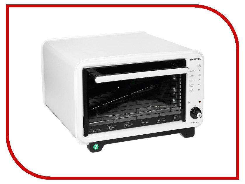 Мини печь Kumtel KF 3000 D White-Black