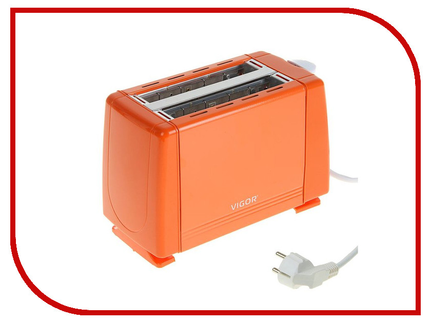Тостер Vigor HX-6015 vigor hx 6015 orange тостер