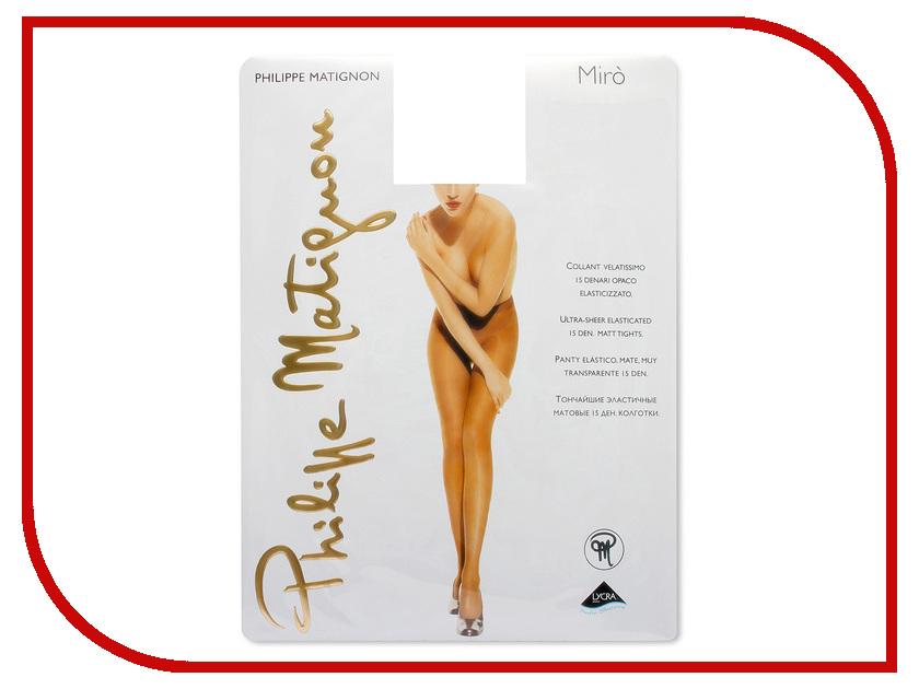 Колготки Philippe Matignon Miro размер 4 плотность 15 Den Nero philippe matignon колготки miro 15 cappuccio