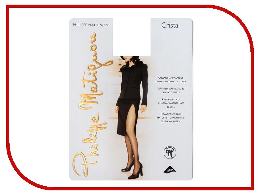 Колготки Philippe Matignon Cristal размер 2 плотность 30 Den Nero гольфы philippe matignon premiere 20 mi bas nero черные размер m l