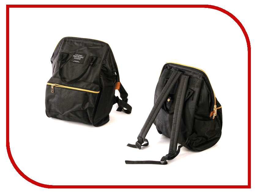 Рюкзак Megamind Anello / Living Traveling Black М6780 приставка рейсмусовая белмаш td 2000