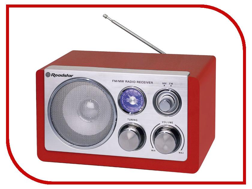 Радиоприемник Roadstar HRA-1200N Red  oodji 11400442 45190 1200n
