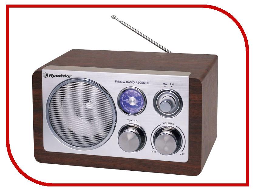 Радиоприемник Roadstar HRA-1200N Wooden  oodji 11400442 45190 1200n