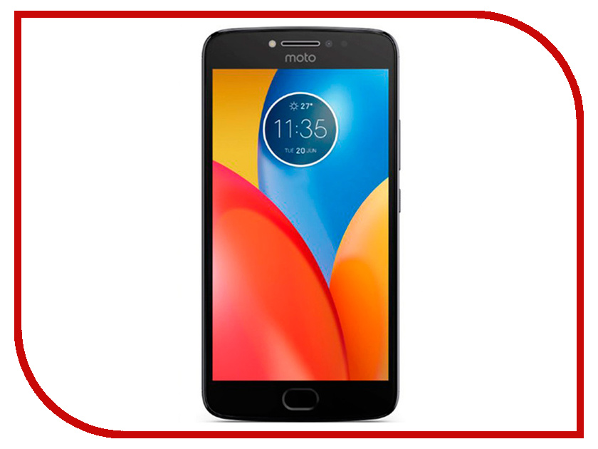 Сотовый телефон Motorola Moto E4 XT1762 Oxford Blue смартфон motorola moto e4 xt1762 iron gray