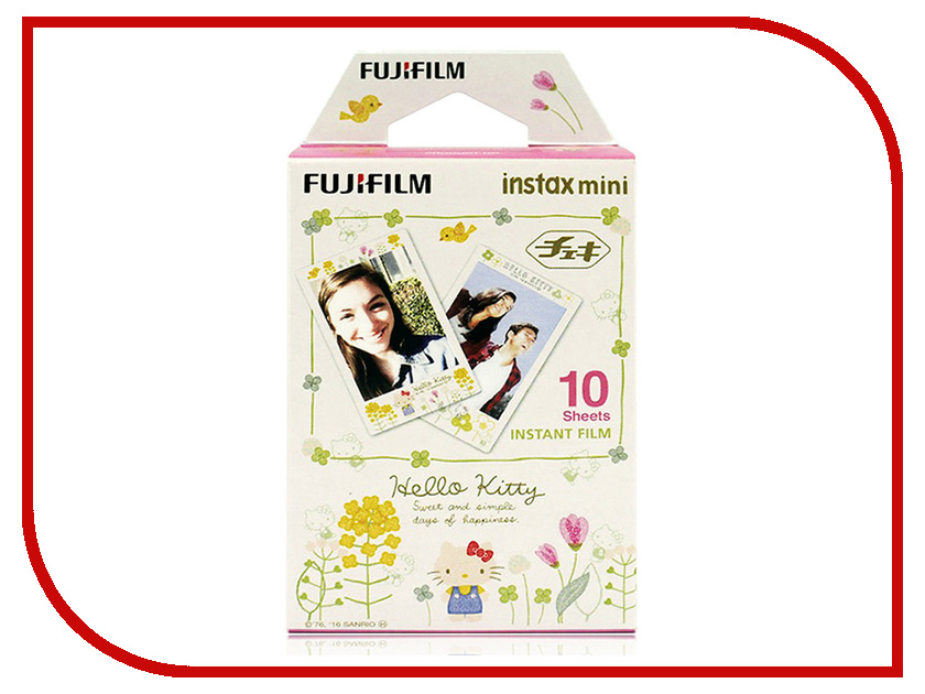 FujiFilm Colorfilm Hello Kitty Natural 10/1PK для Instax Mini Hello Kitty 16537328