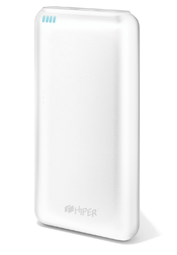 Аккумулятор Hiper Power Bank SP20000 20000mAh White аккумулятор hoco b32 energetic wireless power bank white