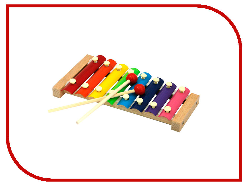Детский музыкальный инструмент Магникон Деревянный ксилофон 4660007763276 smoby музыкальный инструмент ксилофон 211013