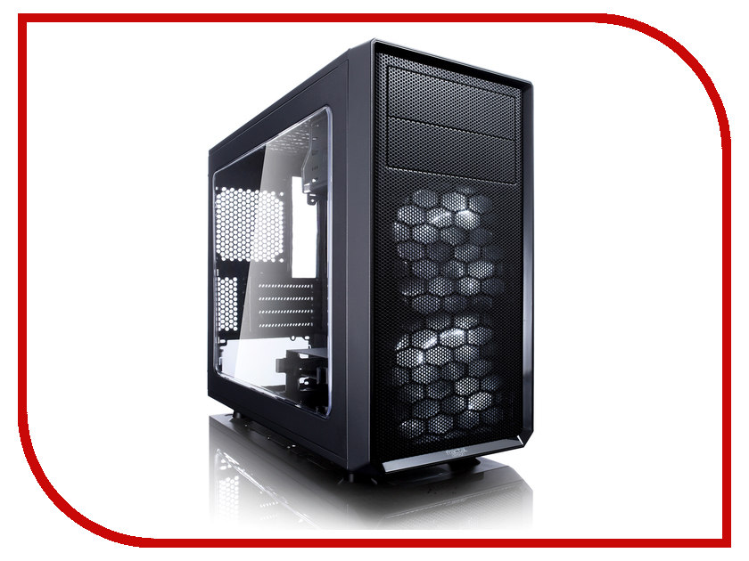 Корпус Fractal Design Focus G Mini Black FD-CA-FOCUS-MINI-BK-W